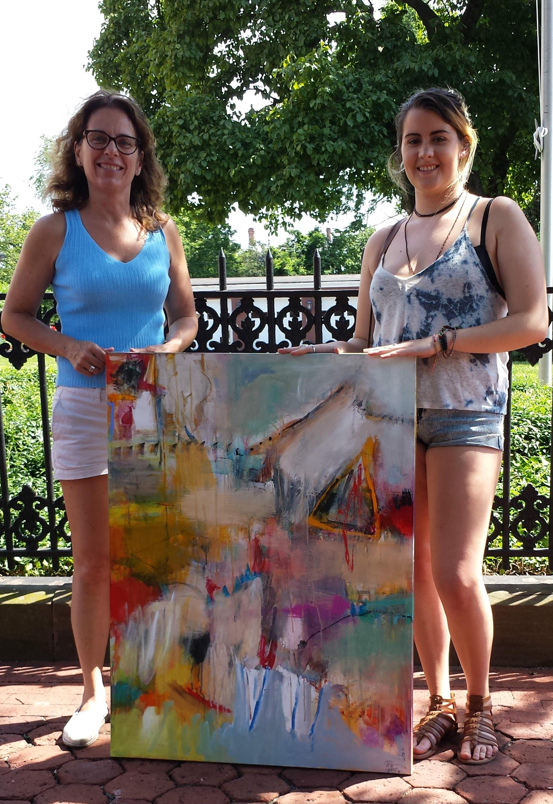 Beth Becker and Emily Hanner
