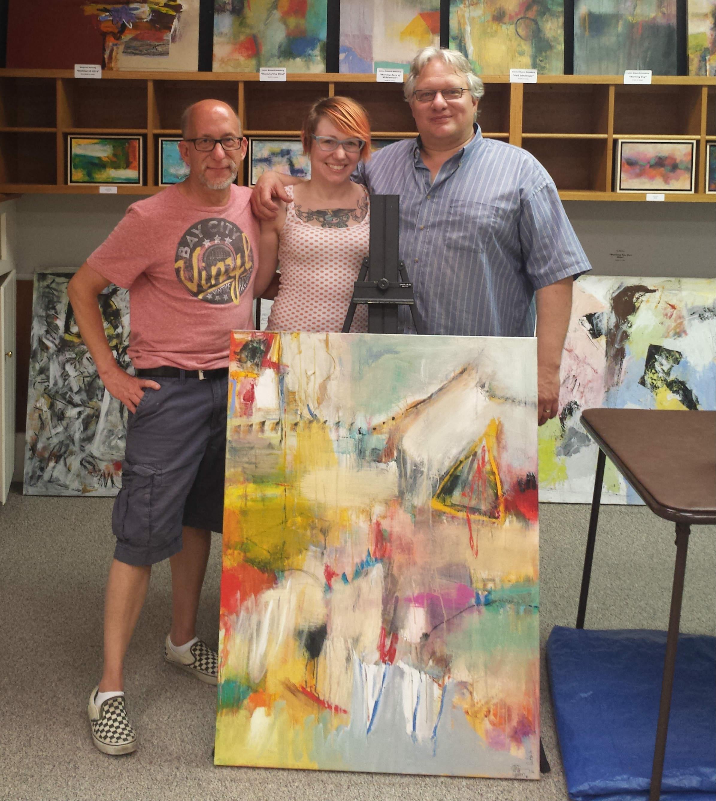 Ed Becker, Jennifer Butt, and Calvin Edward Ramsburg
