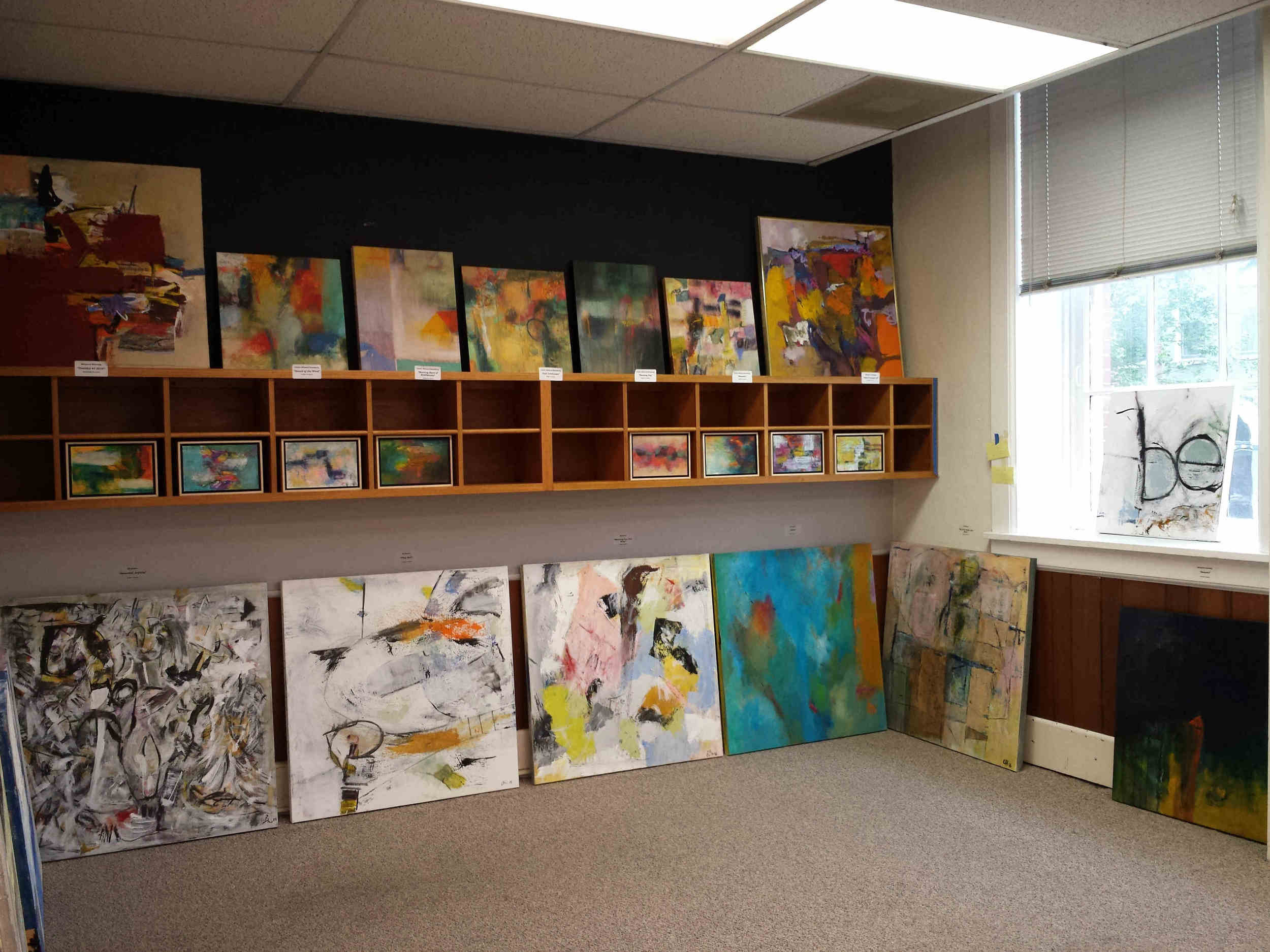 Our space at Artomatic -- 25E