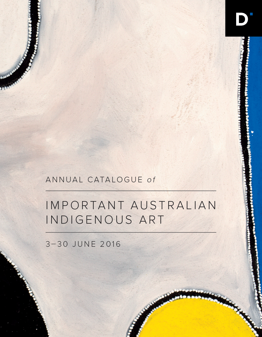 Australian Indigenous art exhibition 2016
