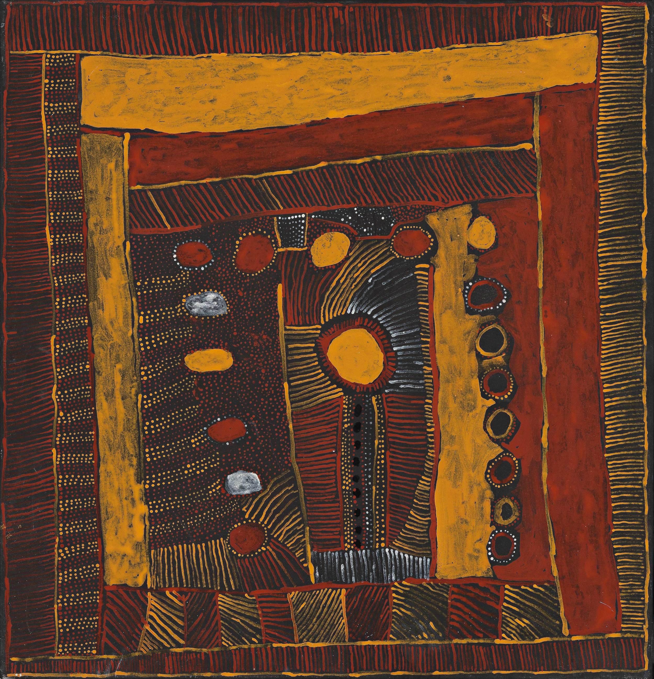 KITTY KANTILLA,1928–2003  Fire, Rain , 2001