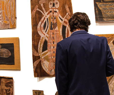 From  Important Australian Indigenous Art  ,  collaboration with William Mora and D'lan Davidson, June 2016.