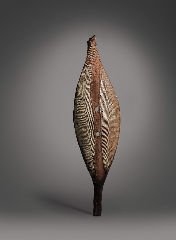 A Broad Shield  Lower Murray River, early 19th Century Sold for £30,000 IBP