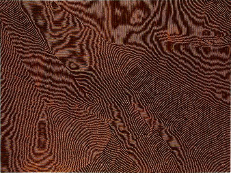 Warlimpirrnga Tjapaltjarri, Untitled, sold at Sotheby's London for £167,000 IBP, September 2016