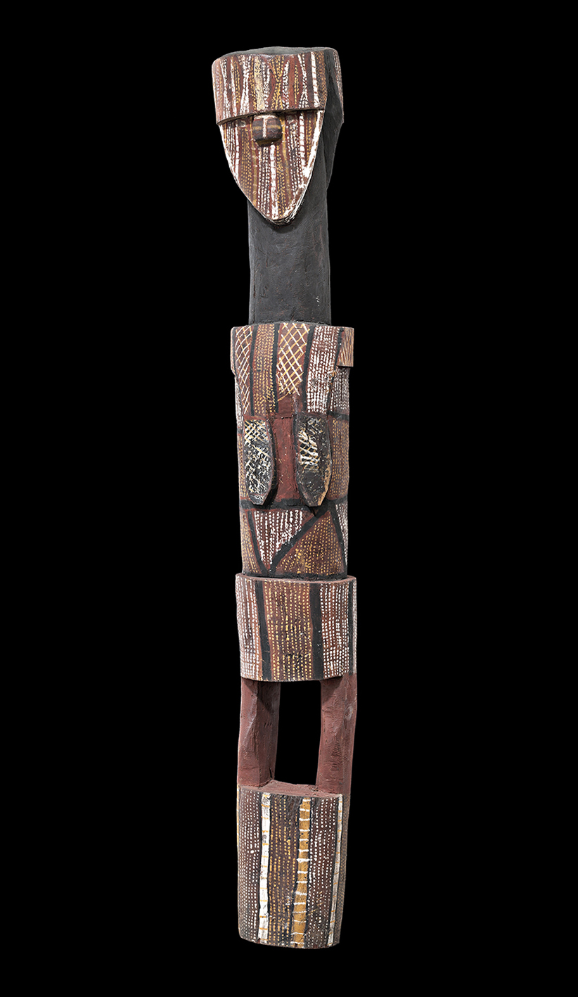 Tiwi Islands carved figure