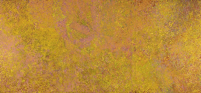EMILY KAME KNGWARREYE , 1910-1996,  Kame - Summer Awelye II , 1991, sold at Sotheby's, London for  $547,641 (IBP)