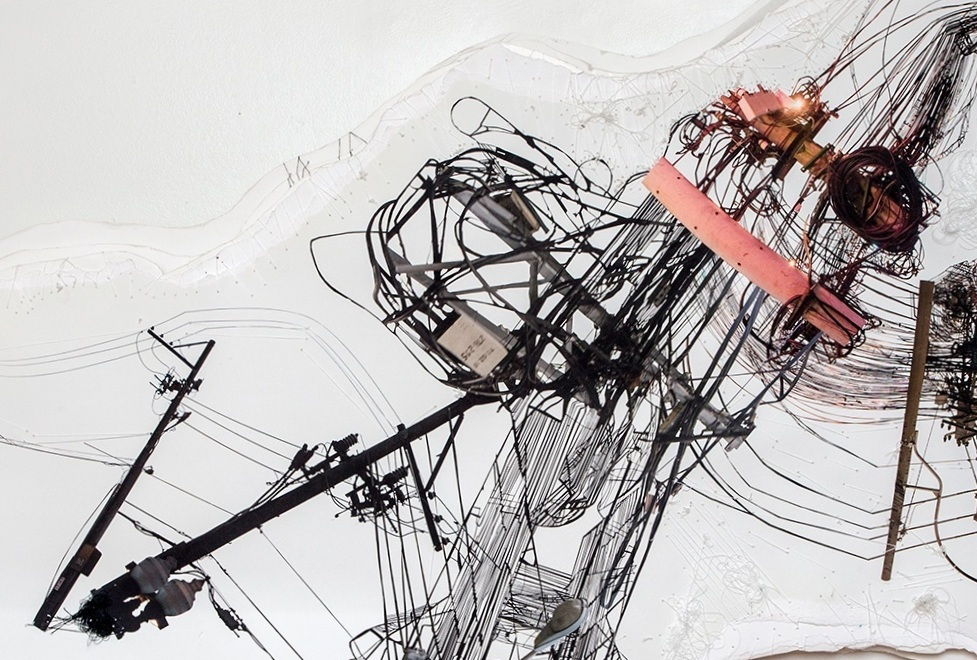POWER + LINES (detail), 2012