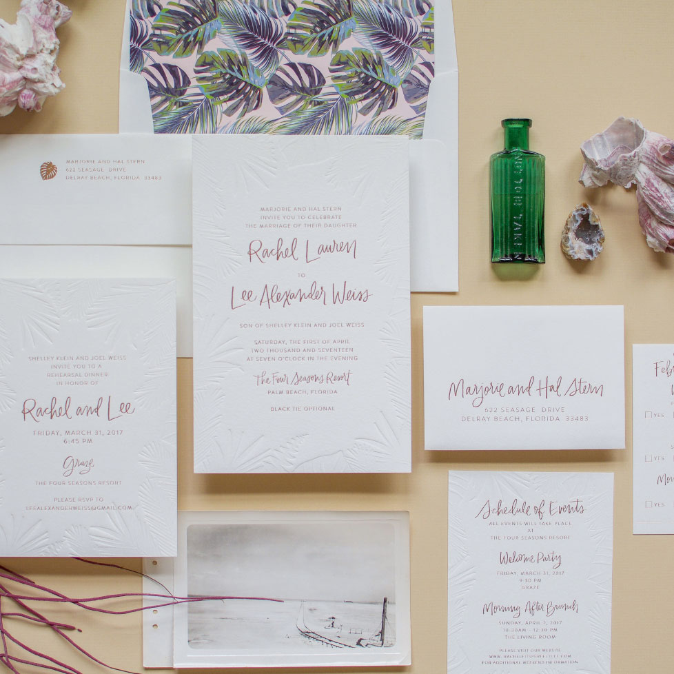 SPOT LETTERING - Do you need your names written for your invites? Or are you looking for personalized stationery?This option is different than just buying a stock font online. I'm here to make your names reflect you.If needed, I'll connect you with some invitation designers, I love working with, like my girl Swell Press with her suite above.