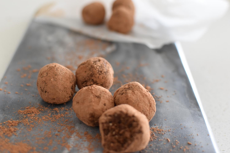 Hazelnut Mocha Protein Balls