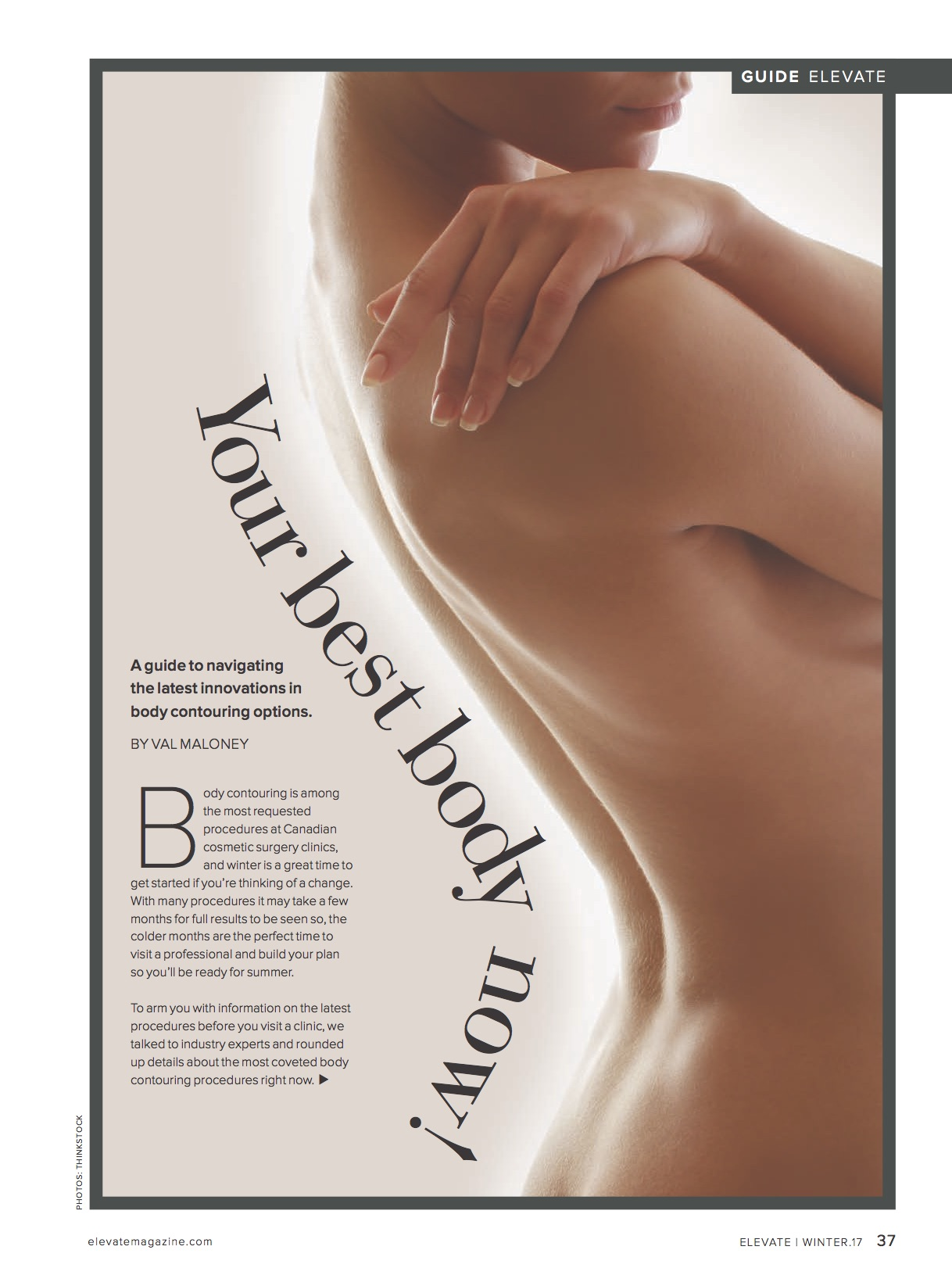 Med V Spa featured on Elevate Magazine