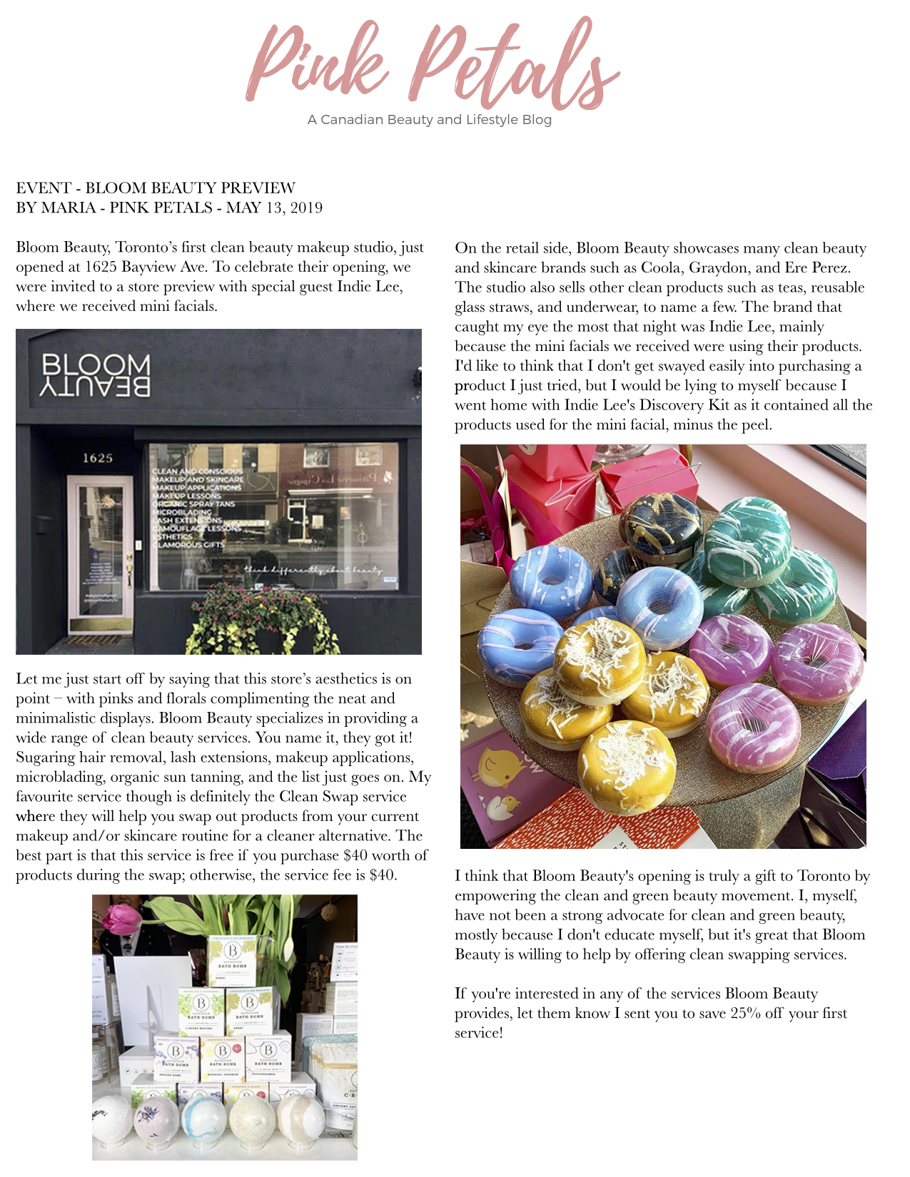 Bloom Beauty featured on  Pink petals