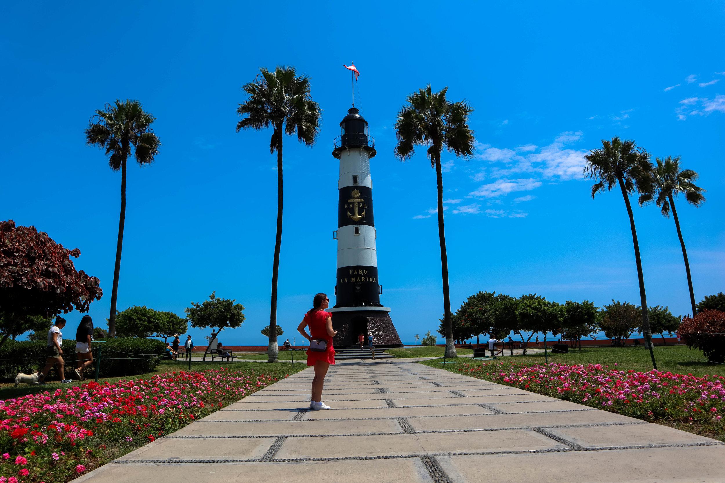 Miraflores Lighthouse (Faro La Marina)