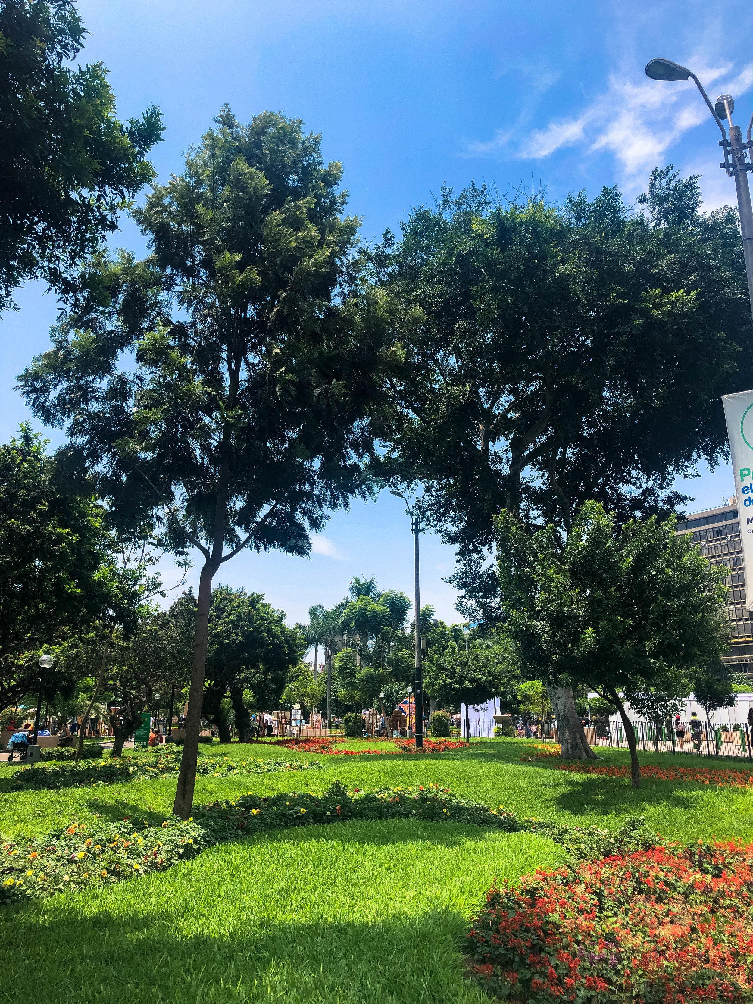 Parks in Miraflores