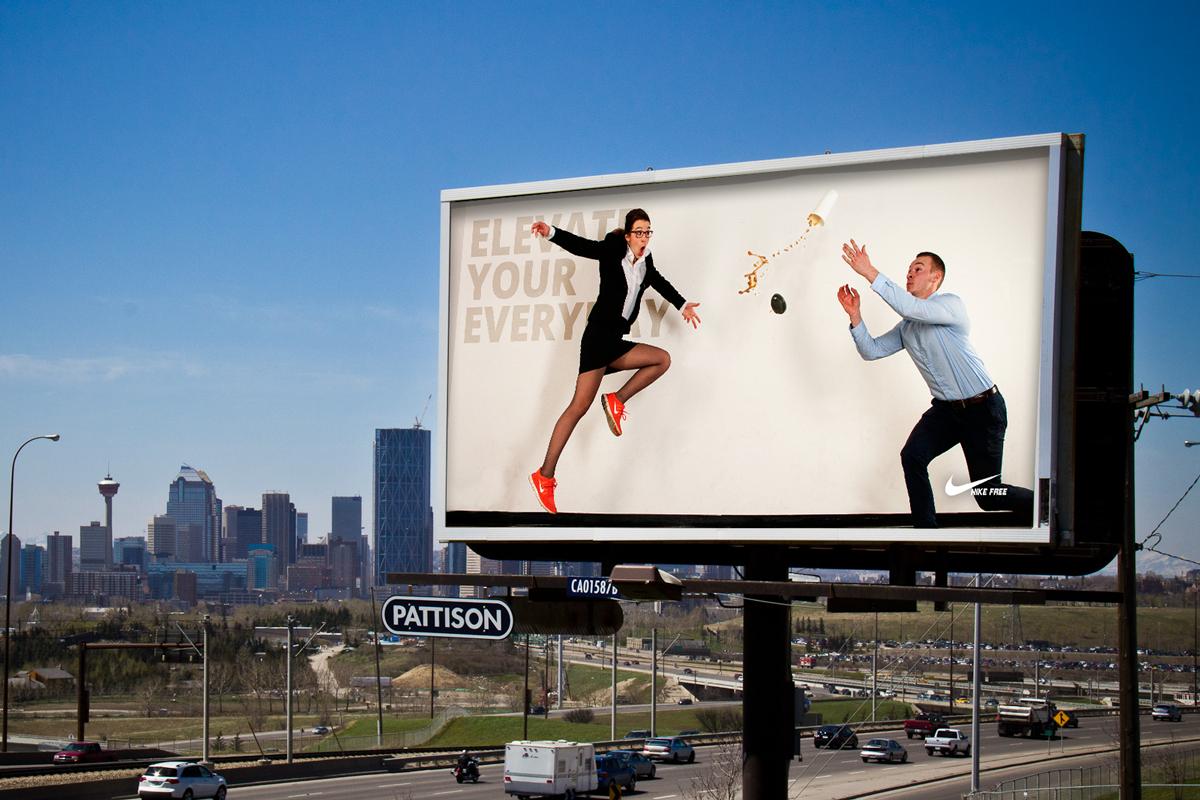 Nike Free Advertisements Darryl Hill Creative