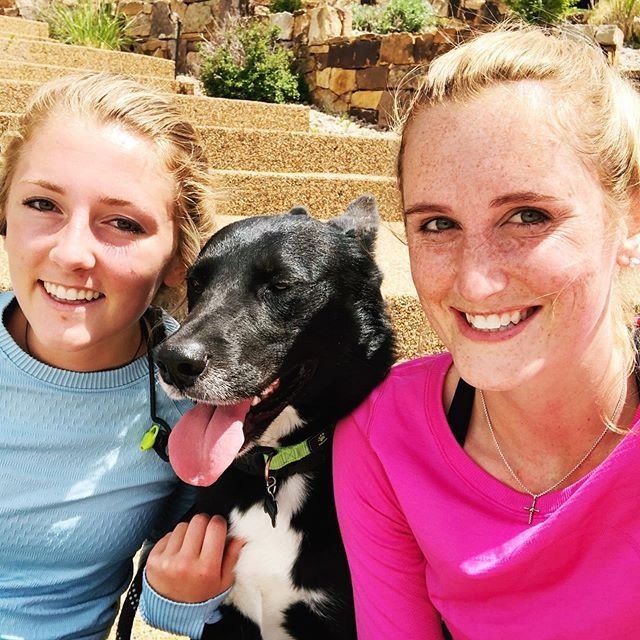 The three of us crushed some serious miles this weekend 🏃🏼♀️. So far, Jack 🐶 seems to be the most prepared for Seawheeze... don't tell him that he's not signed up to run it 😂 #runningbuddy #seawheeze2019