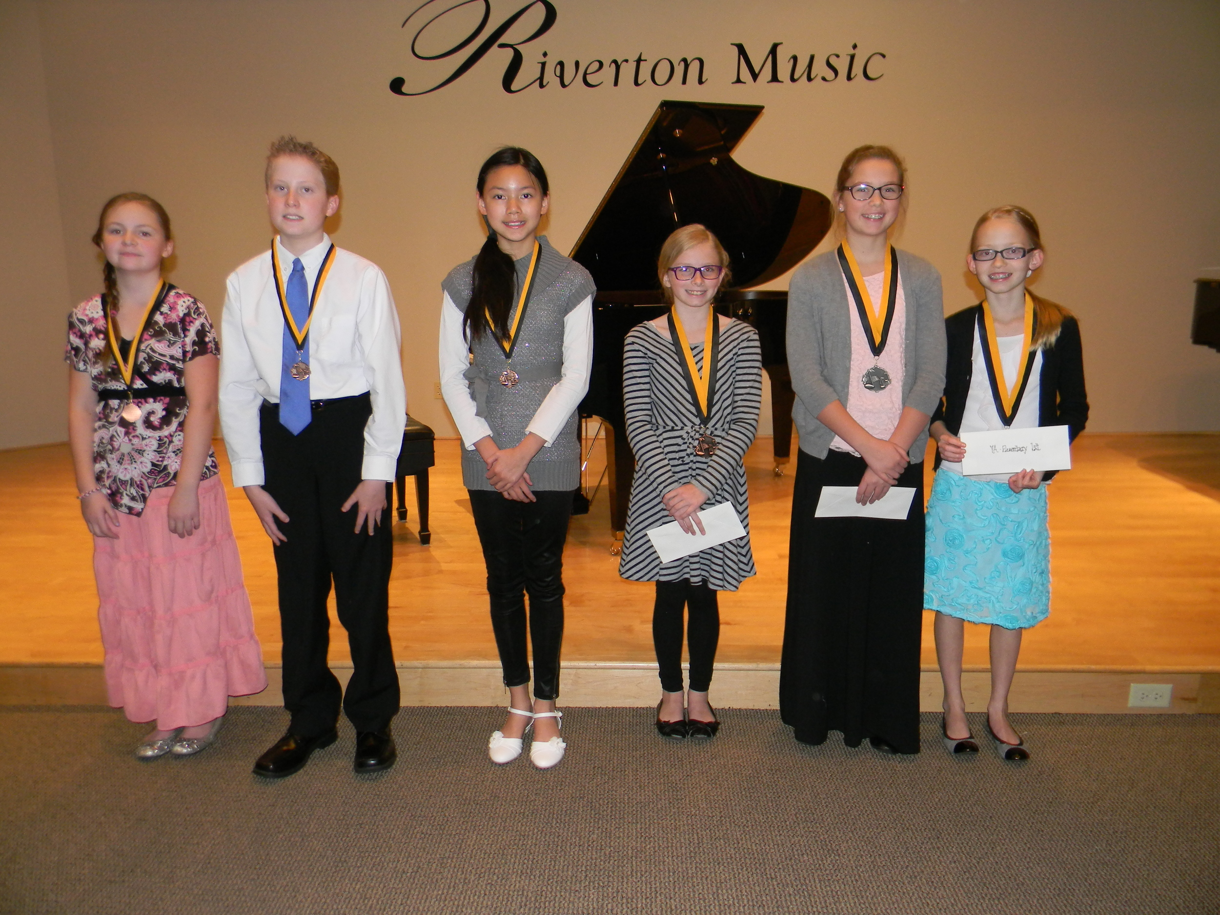 Some of our student festival winners