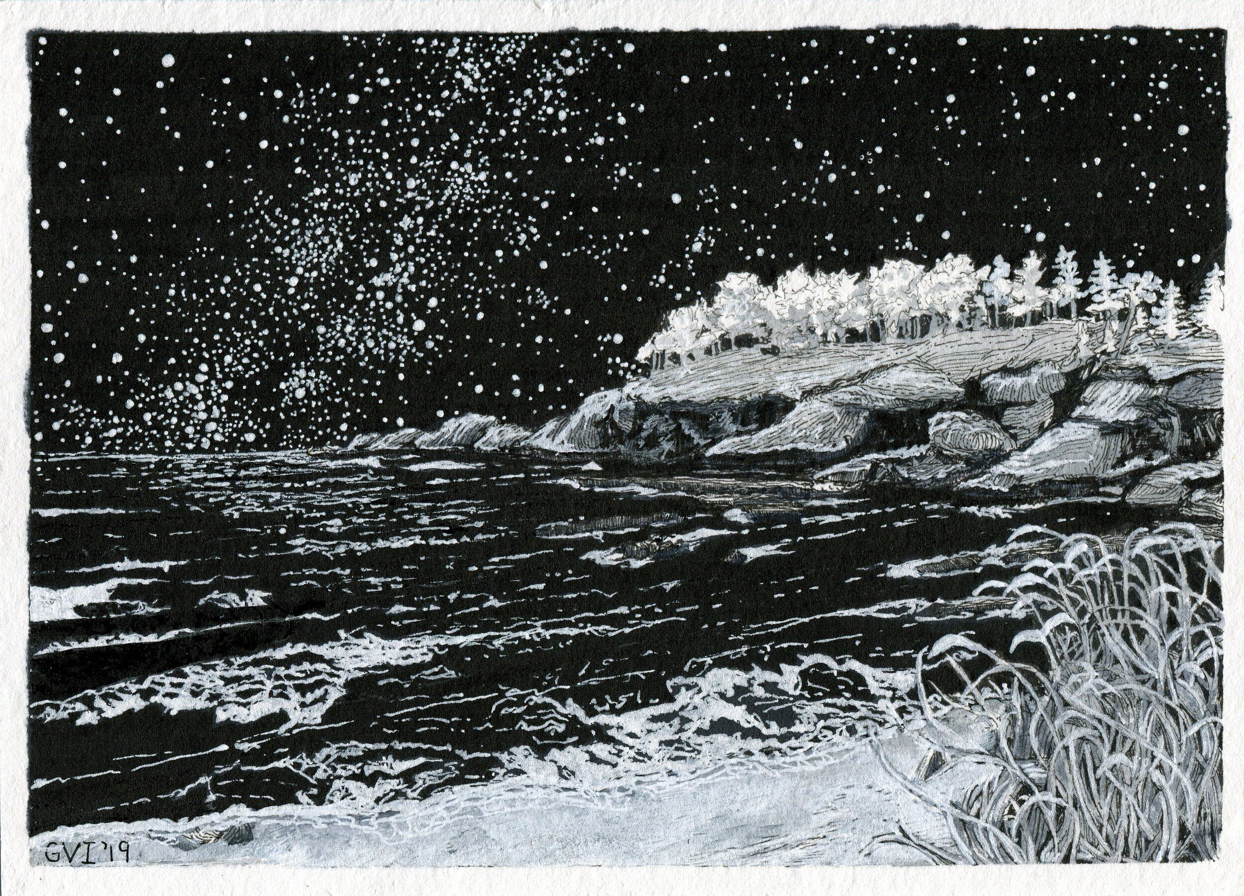 Oregon Coast Nightscape