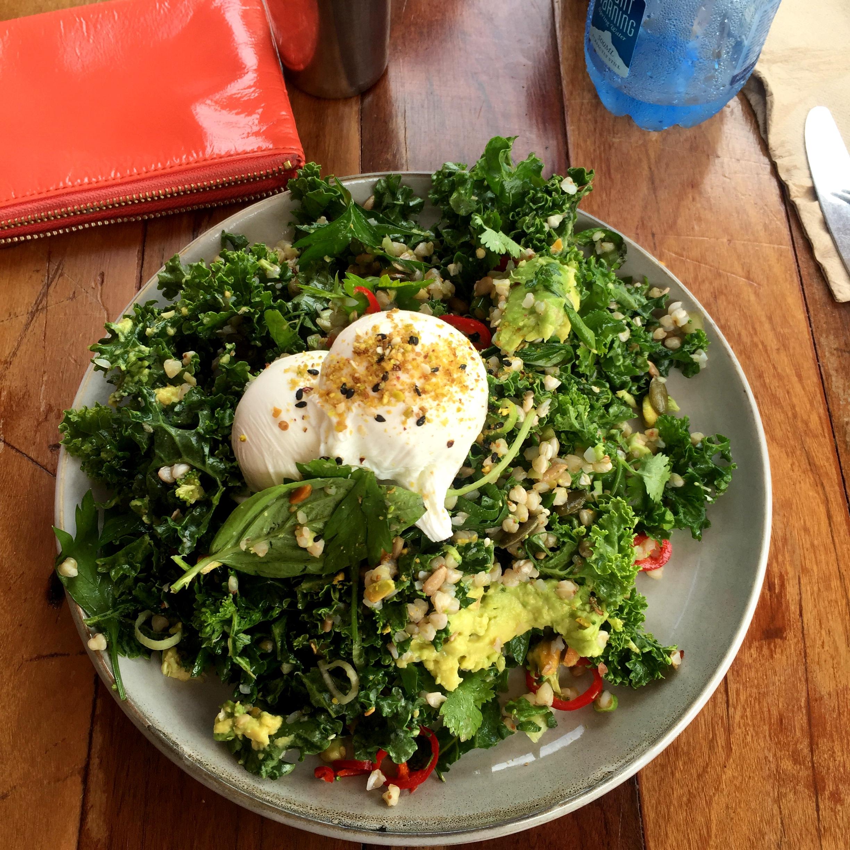 Brekky Greens @ Bayleaf Cafe