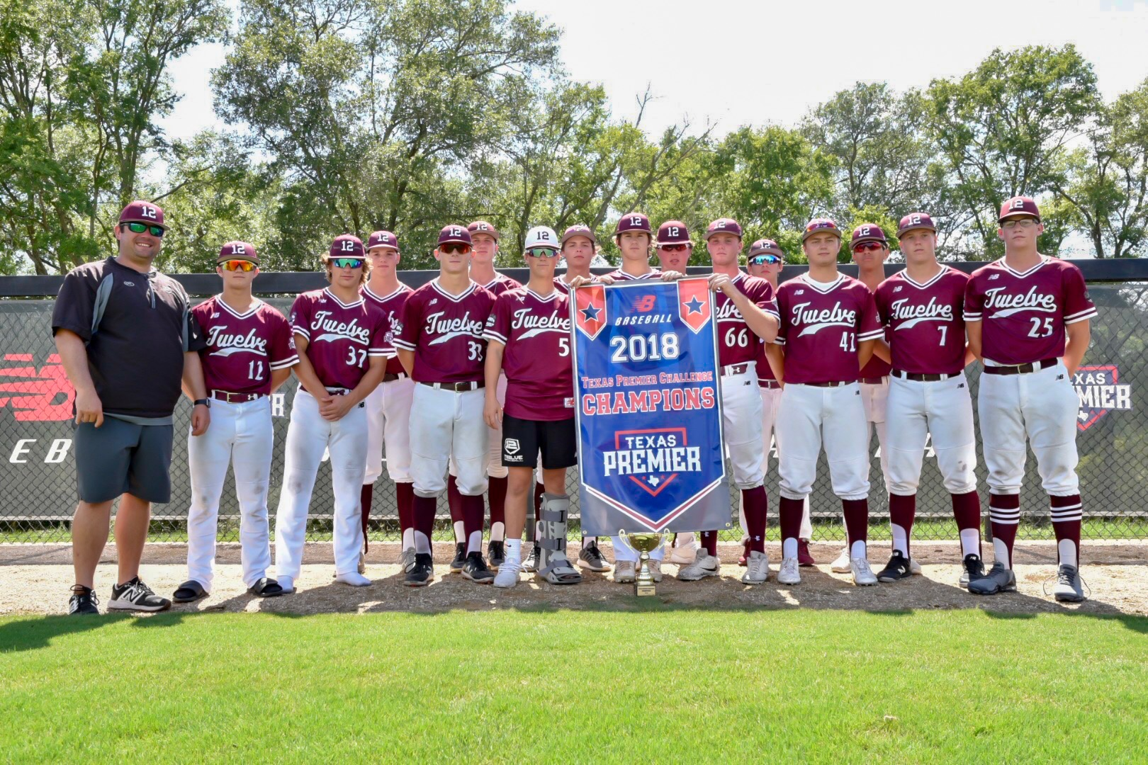 CHAMPIONS (NATIONAL DIVISION) - TWELVE (15U MAROON)