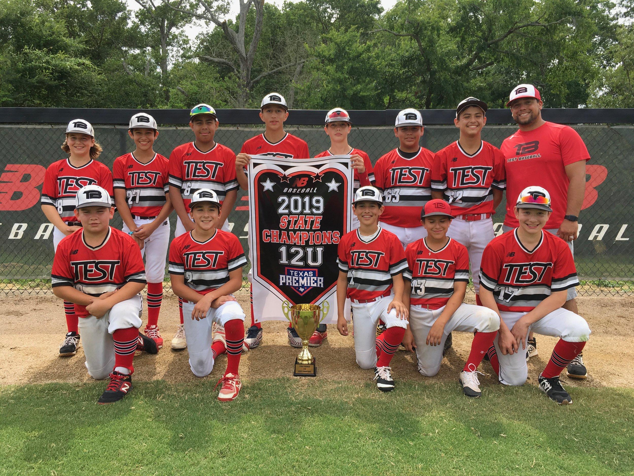 12u State Championship (June 14-16) — Texas Premier Baseball