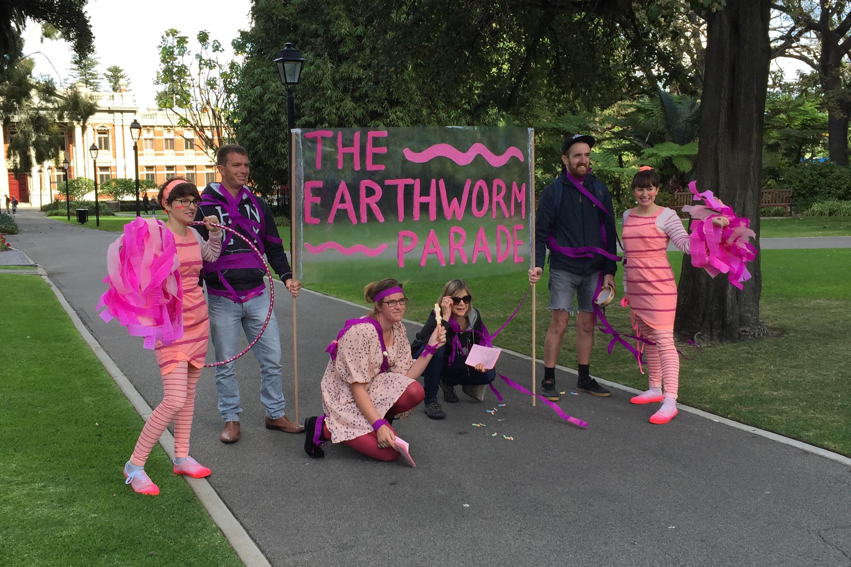 Snapcat, 'Tiny Parades (The Earthworm Parade)', 2015. Photo by Ben Mitchell4.jpg