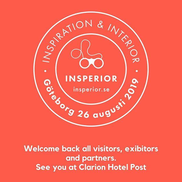 Välkommen till Insperior 2019. Anmäl dig på www.insperior.se  #insperior #insperior2019 #clarionpost #mindsverige