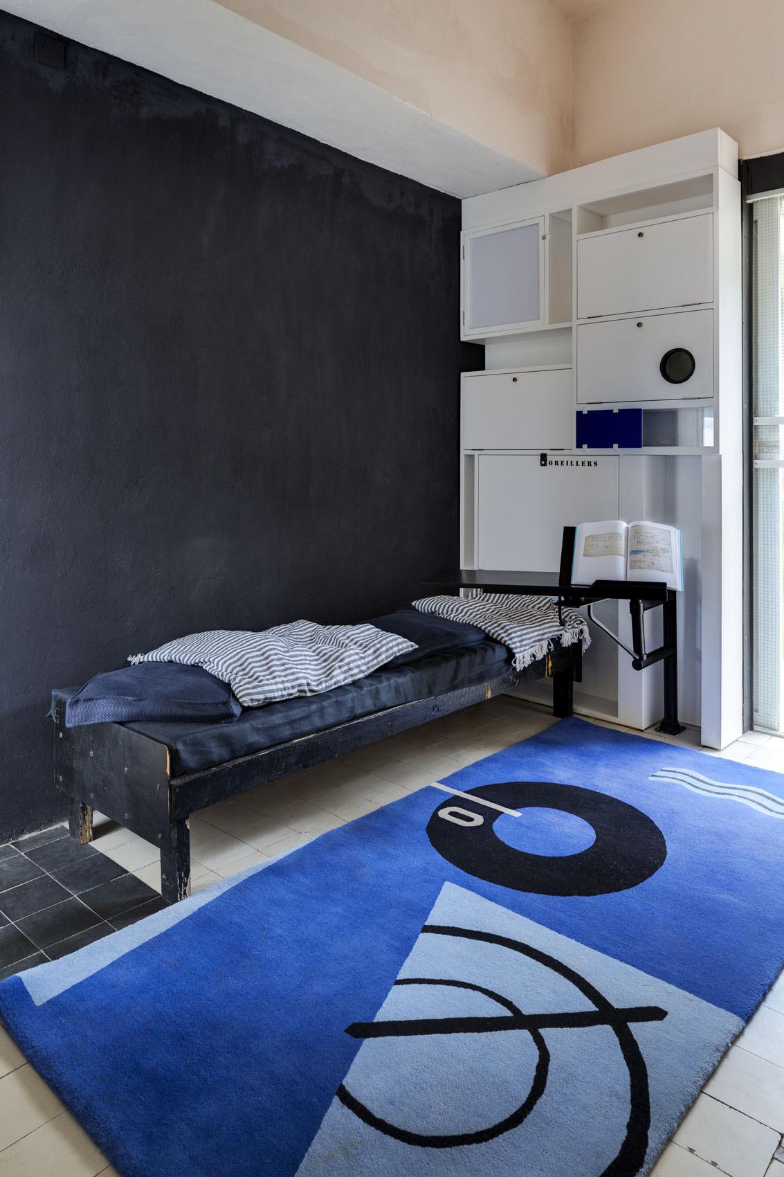 Una de las habitaciones de la Villa E.1027