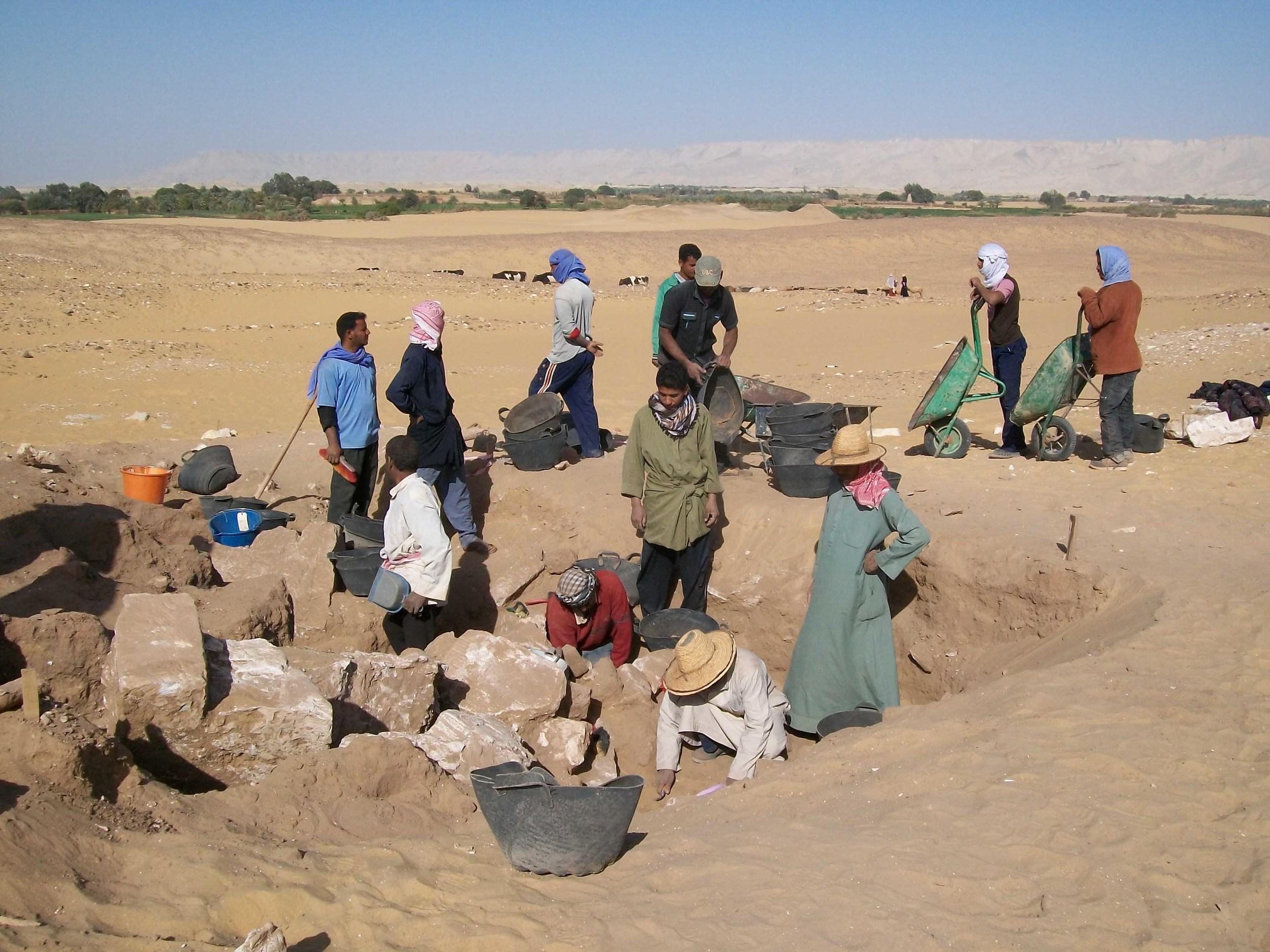 Amheida excavations