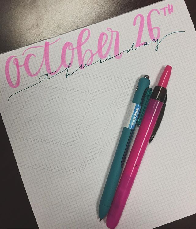 Even if I don't get shit done, my to do list looks supa cute everyday! #workinhard #peeledthatstickerofftthepenafteritookthephoto #clickysharpiehighlighterftw