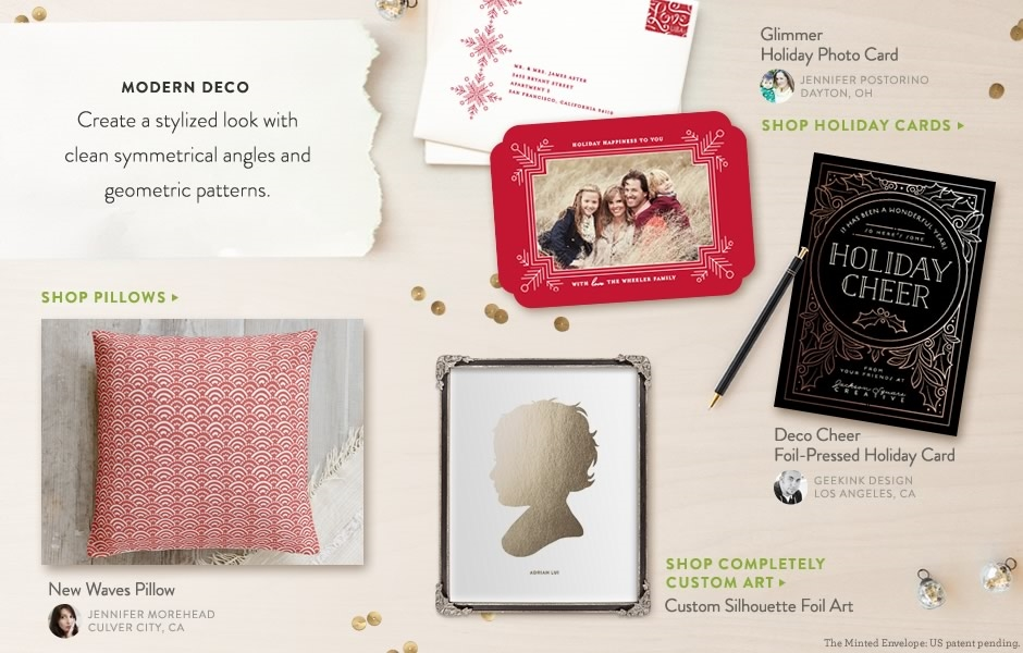 We're very excited to be partnering with Minted to offer our clients the most unique designs for all their photo card needs. You can browse some of my favorite designs below or you can use any of the category tabs above to search all of Minted's products. Thank you for the memories, Blair