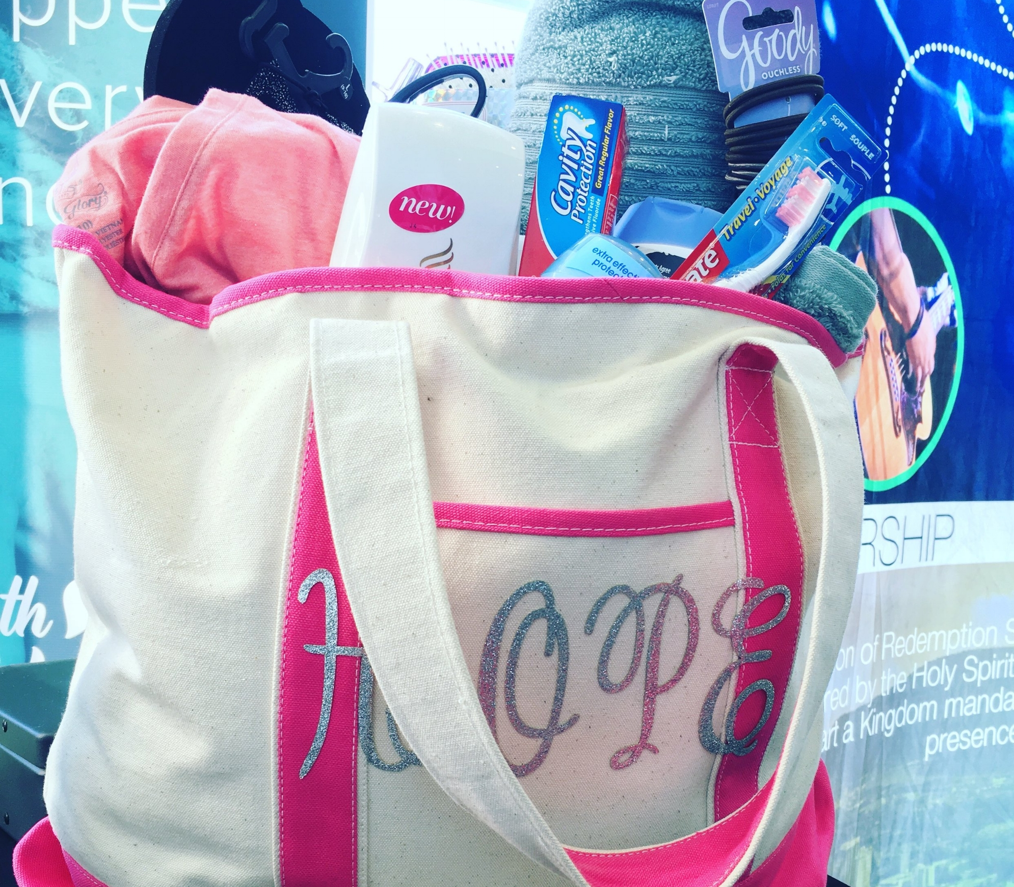 Hope Bags - Hope Bags are a way to show those rescued or considering coming out of