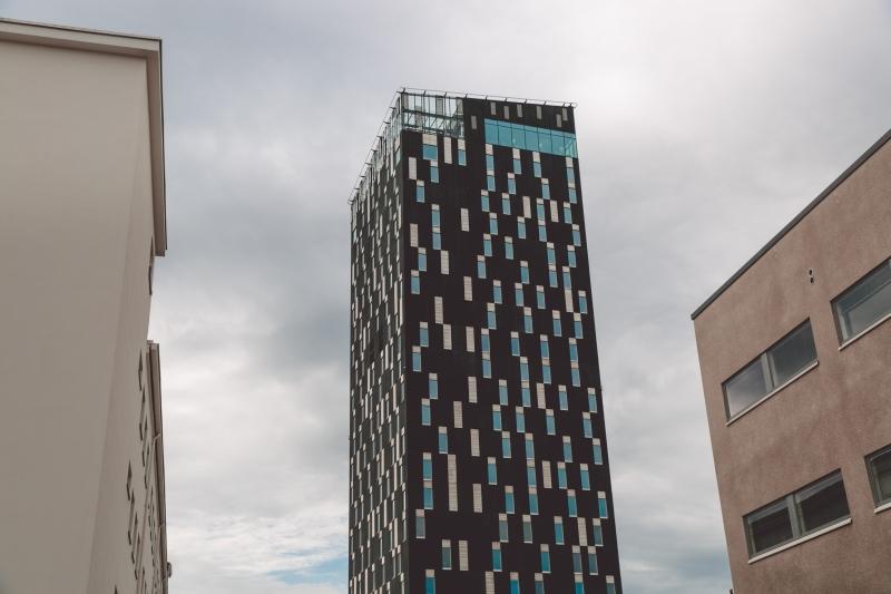 Tampere city Finland Torni hotel