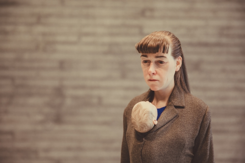 Ron Mueck Woman with Shopping Tampere Sara Hildén Art Museum