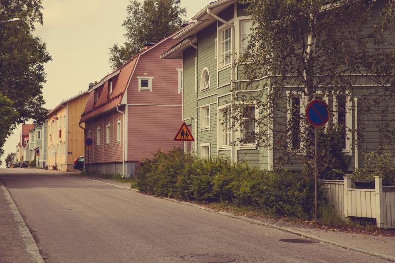Tampere Pispala wooden houses