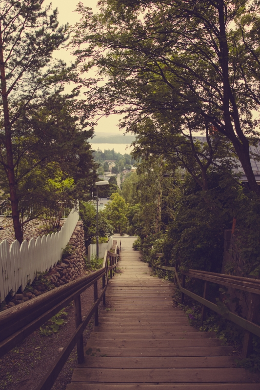 Tampere Pispala stairs