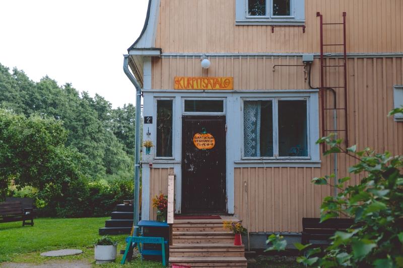 Tampere Pispala wooden houses Tahmela
