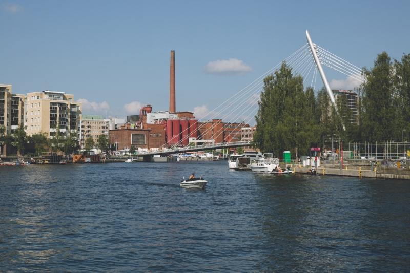 Tampere city centre Laukontori