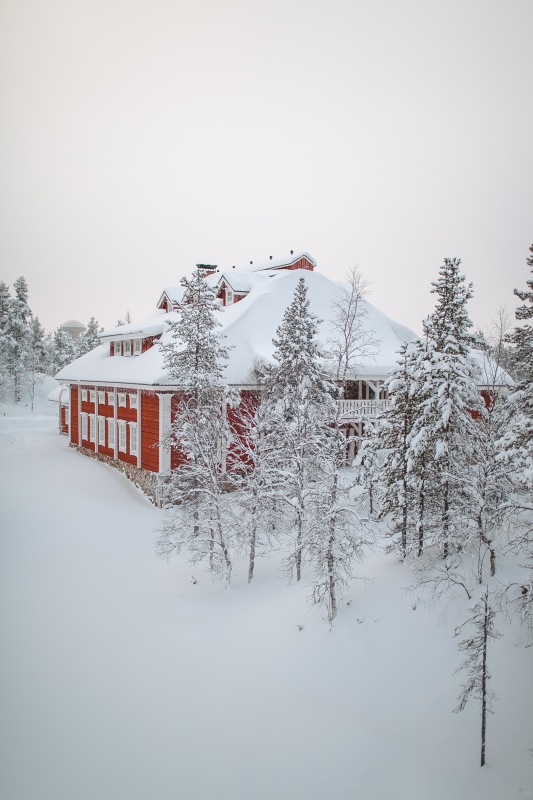 Kakslauttanen arctic resort Saariselkä Lapland Lappi photography West Village
