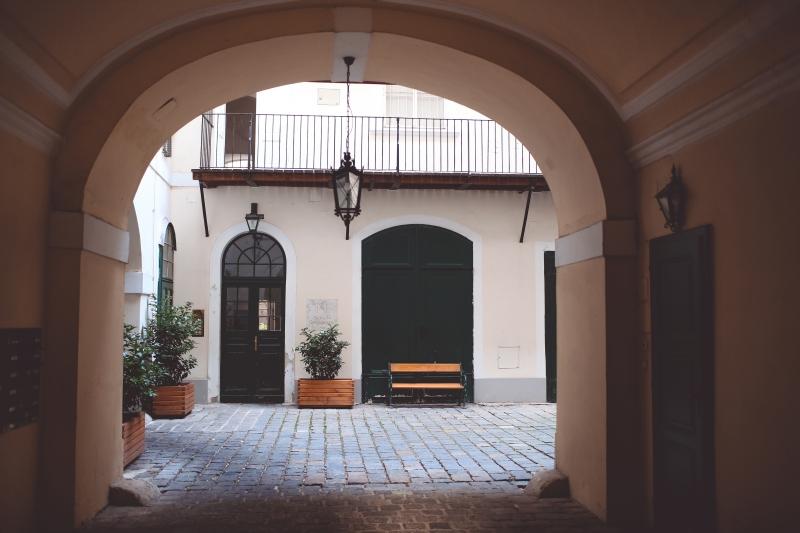 Inner courtyard Vienna