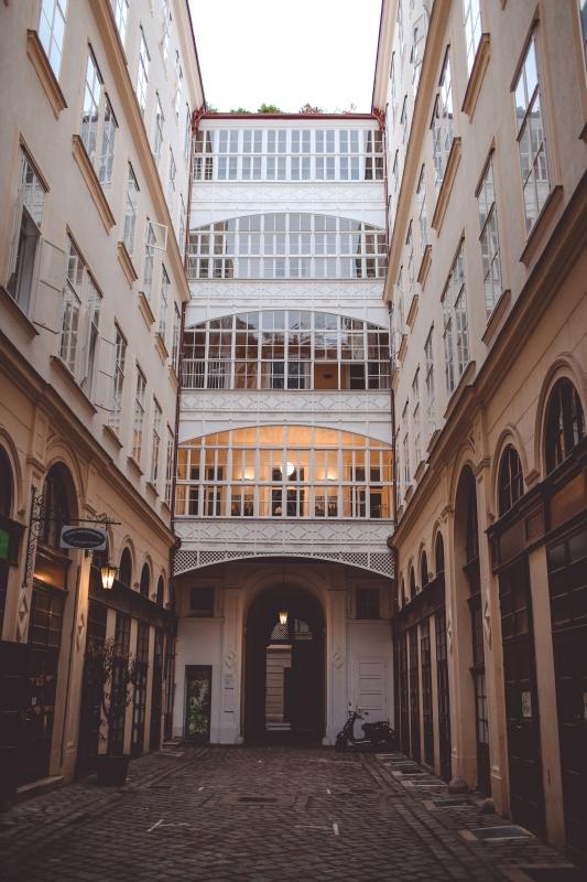 Vienna Inner Courtyard