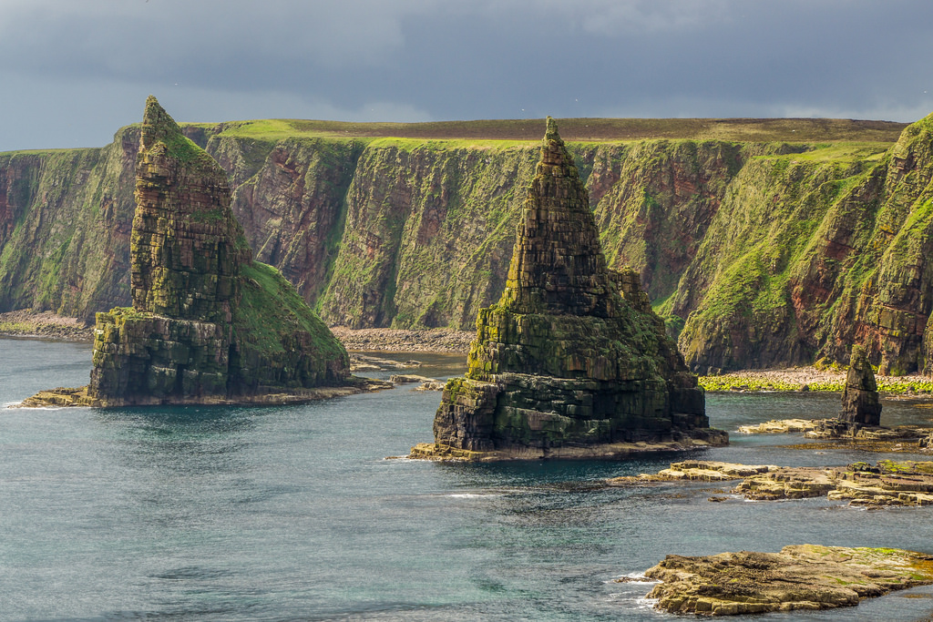 The Duncansby Sea Stacks which we will visit on our Scottish Tour!