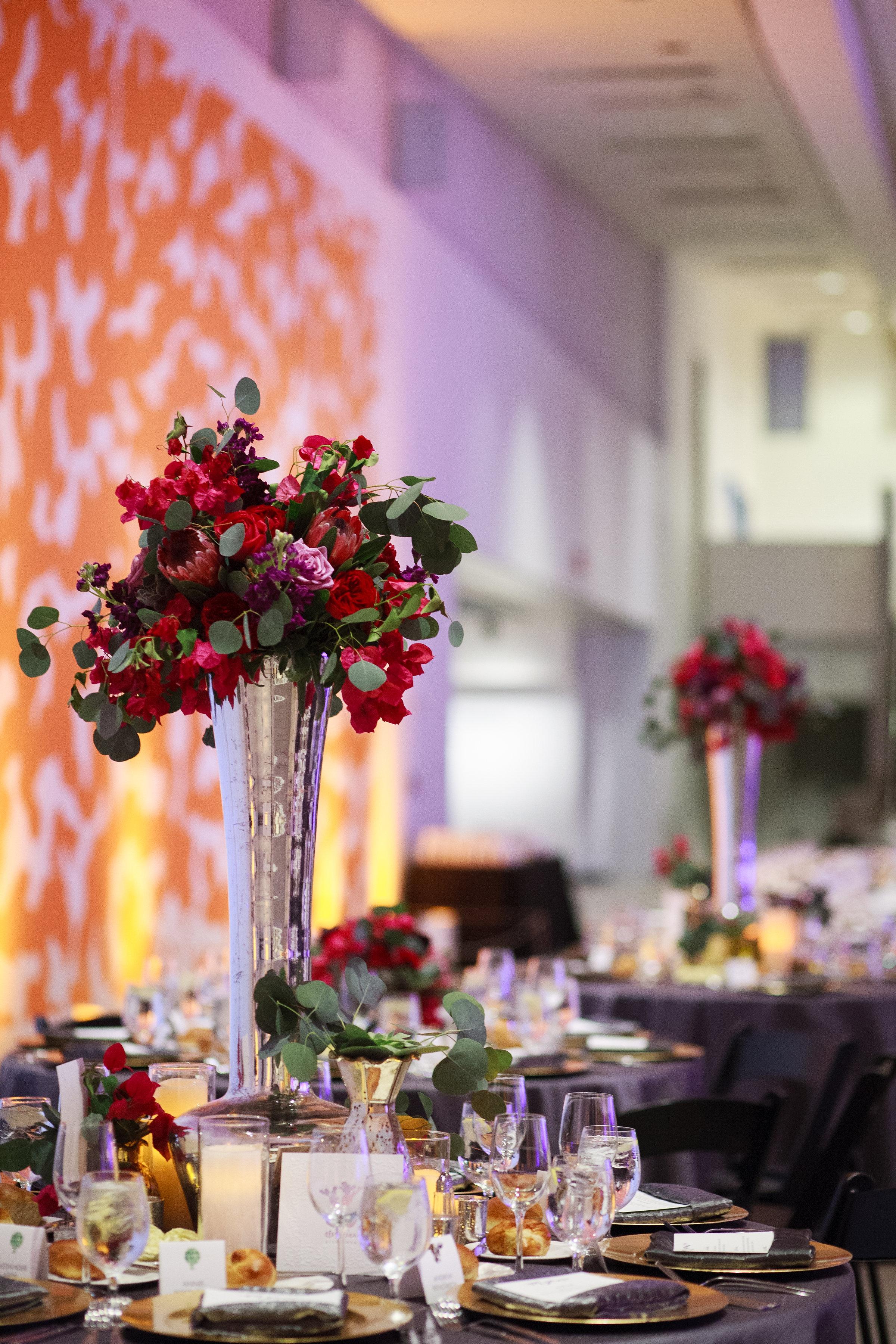 wedding, Arizona wedding, art museum wedding, wedding planner, wedding lighting, Phoenix-Scottsdale-Arizona-Wedding-Planner-Wedding-Venue-Destination-Wedding-Planner, wedding centerpiece, wedding reception