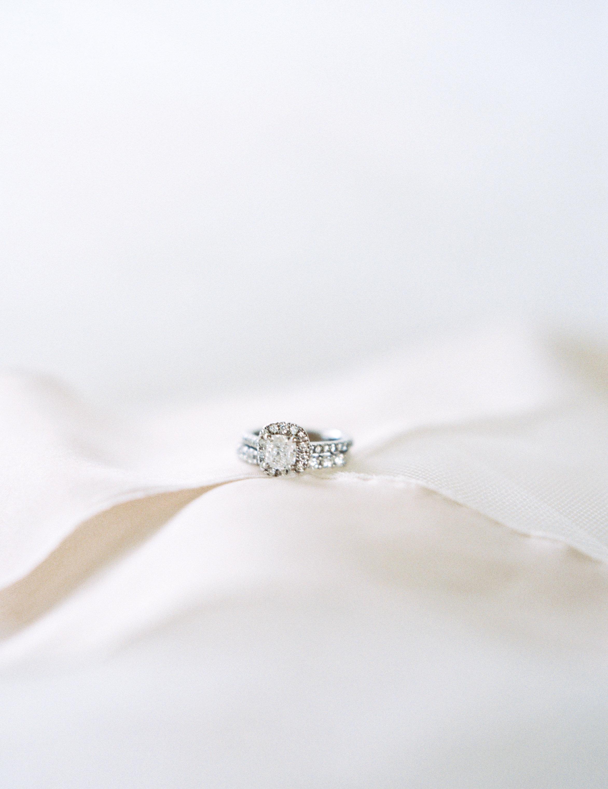 Wedding ring, engagement ring, destination wedding ring