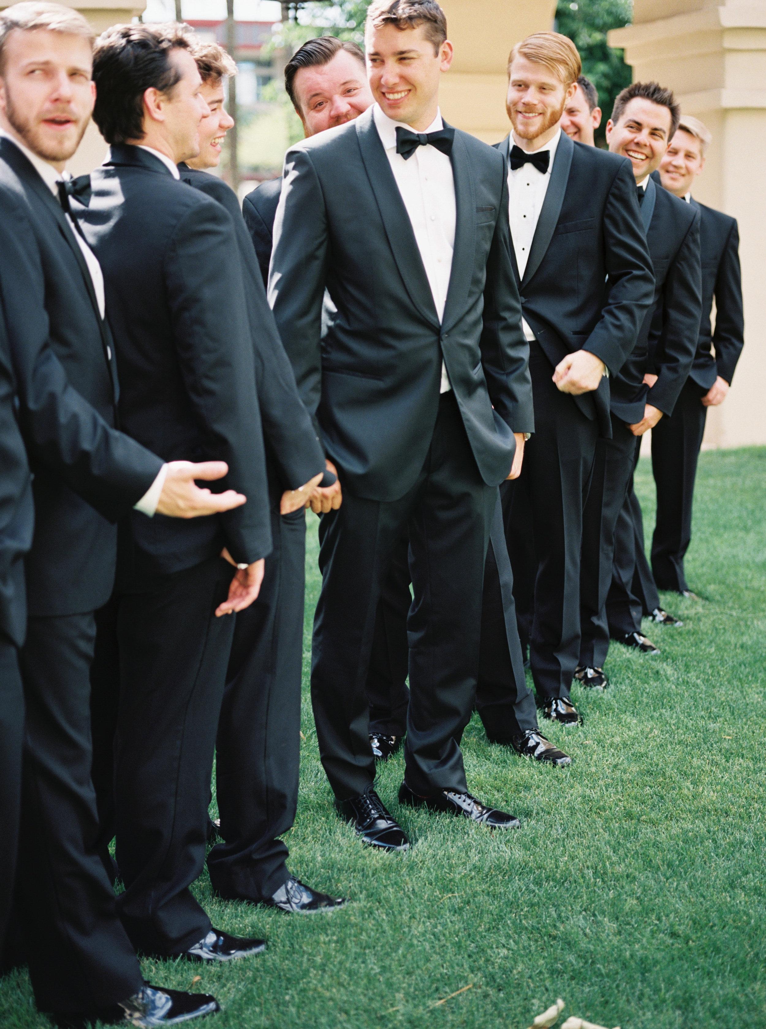 groom details, groomsmen details, bridal party photos, groom tux, groomsmen tux, groom formal attire, groomsmen formal attire
