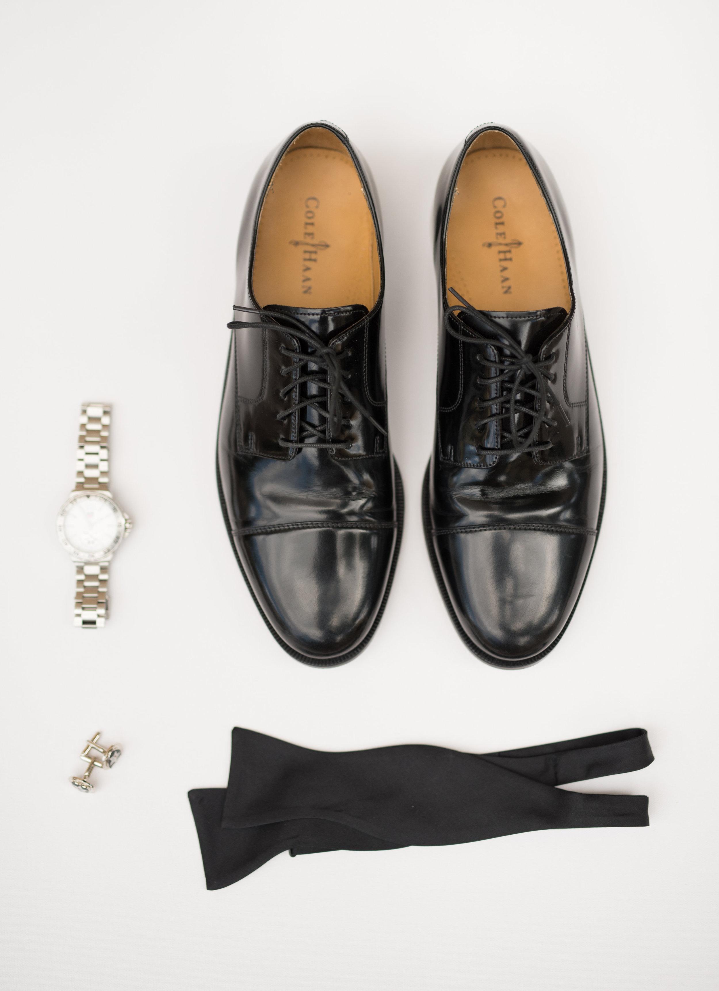 Groom details, groom shoes, groom watch