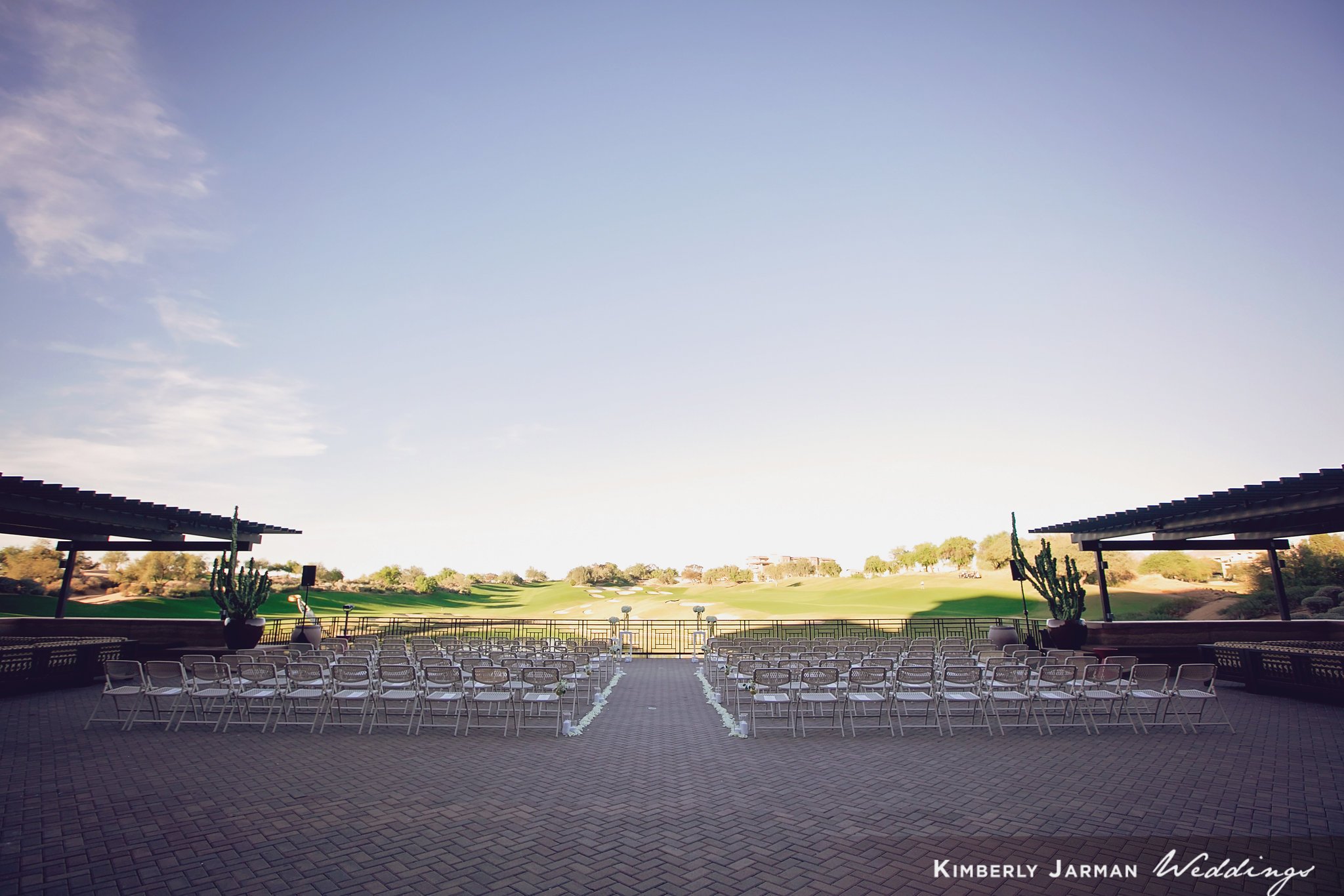 Classic, elegant wedding, white and gold wedding, ceremony, The Westin Kierland weddings