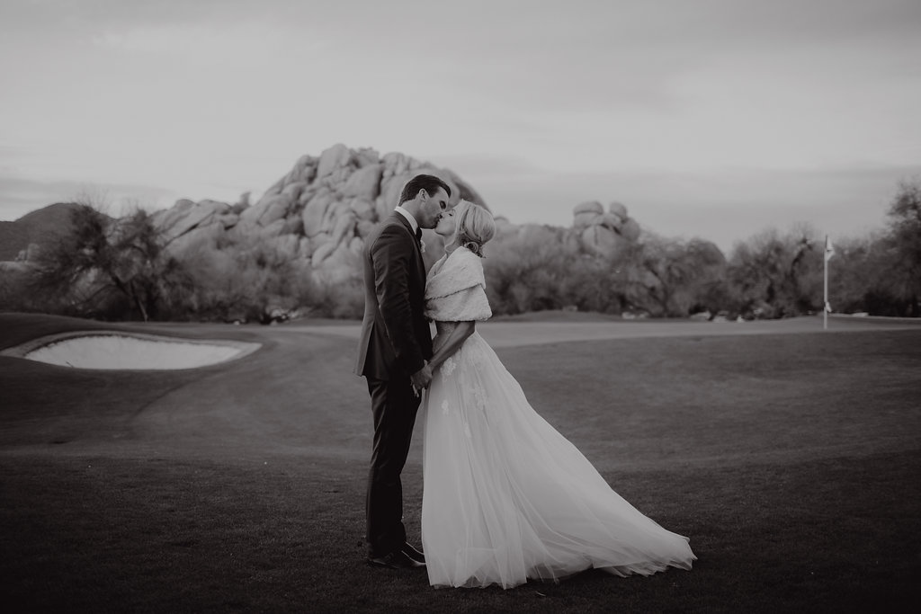 arizona wedding winter boulders