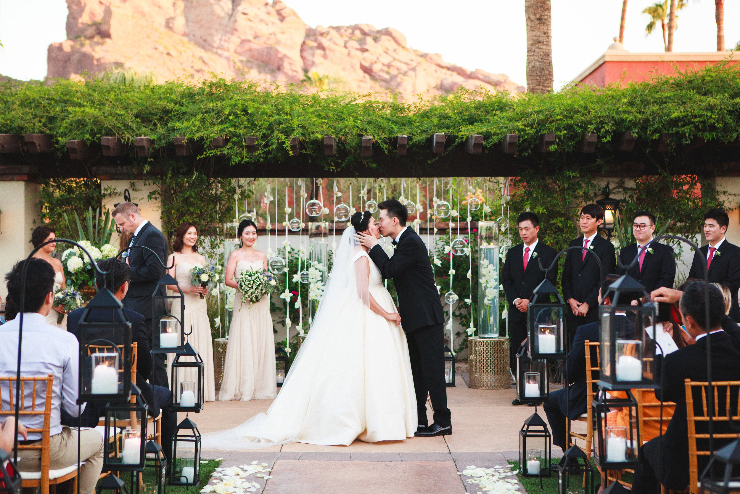 arizona wedding planner scottsdale wedding coordinator destination wedding desert wedding invitation garden ceremony
