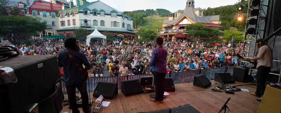 Jordan Patterson Band at Mont Tremblant Bluest Festival