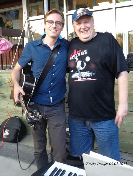 Me and pops after a gig!